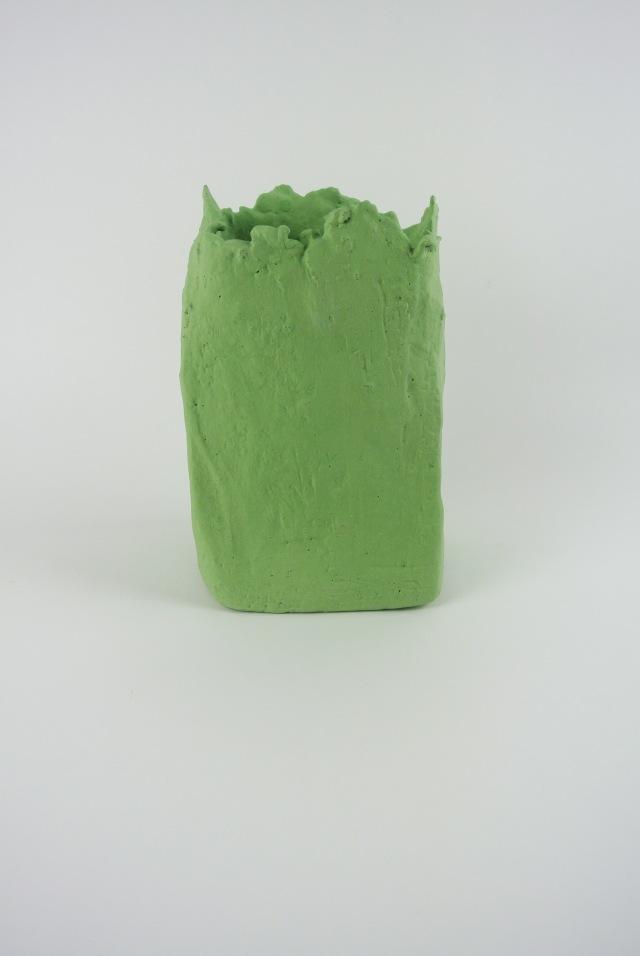 GREEN VASE FRONT