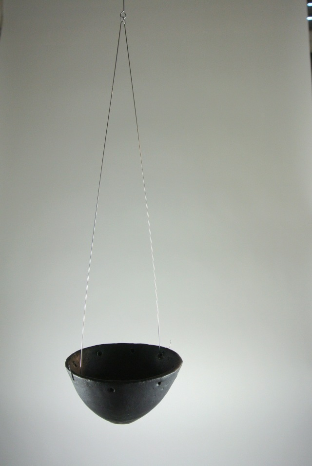 Hanging candle holder distance
