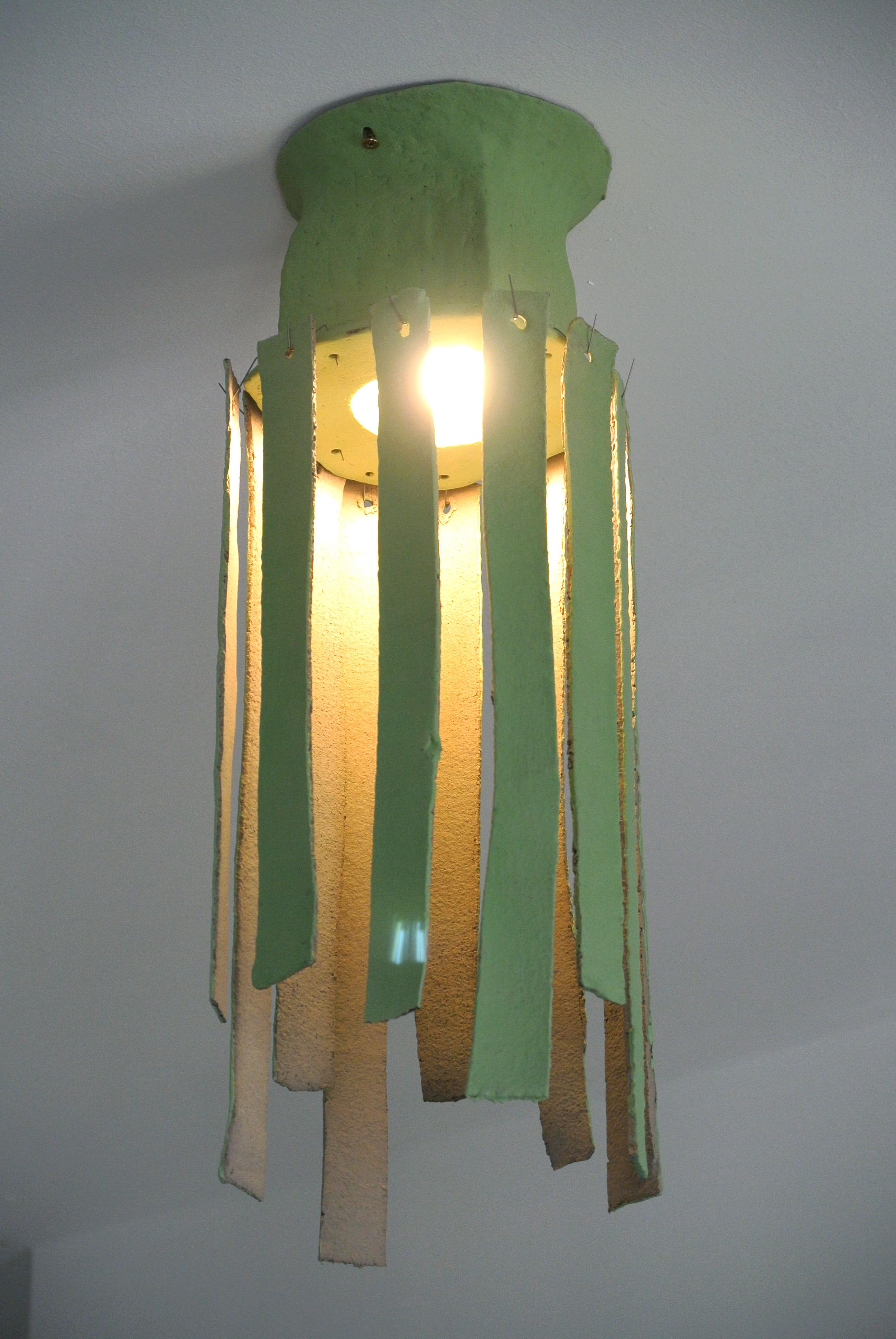 Lichen green lamp8